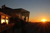 Alpine sunset: Stanserhorn near Lucerne (onurbwa51) Tags: cabriobahn sun topstation sky mountains cablecar rooftop switzerland swissalps