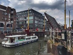 Bridge is open (sander_sloots) Tags: boat bridge open brug utrecht oude gracht schip boot ship
