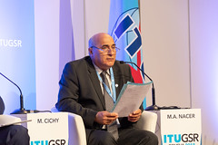 GSR-18 (ITU Pictures) Tags: aiand5g gsr18 regulationasusualforiot bdt itud itu mohamed ahmed nacer president council post telecommunications regulatory authority arpt algeria