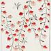 Cherry blossom illustration from Bijutsu Sekai (1893-1896) by Watanabe Seitei, a prominent Kacho-ga artist. Digitally enhanced from our own original edition.