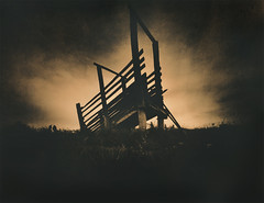 Gone To Higher Ground (micalngelo) Tags: analog filmphoto pinhole realitysosubtlepinhole alternativephotography alternativeprocess lithprint lithprocess moerschlith trixfilm lomography lomojunkie montana cattlechute