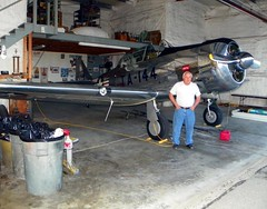 Butch Schroeder with his P51 (michaelyouhas) Tags: ww2 airplanes youhas 2018 butch schroeder danville illinois balloons over vermilion p51 mustang