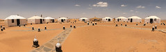 Saharan 'Tent' Camp Pano(11) (jarhtmd) Tags: africa morocco panorama pano sahara canon eos70d desert