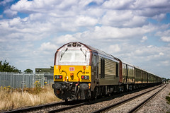 67 @ Pirton rear (1 of 1) (steamnut777) Tags: 67021 pirtoncrossing belmondbritishpullman class67 worcestershire 772018