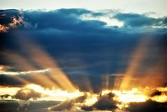 Sunset Streaks (Gary Chatterton 4 million Views) Tags: sunset streaks sky clouds evening weather nikond80 slrcamera colours nightfall sunshine explore flickr photography amateur