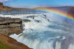Gullfoss, Iceland - Abendstimmung (torremundo) Tags: landschaften wasserfall island gullfoss abendlicht abendstimmung regenbogen