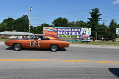 Route 66 Parade - Lebanon, Missouri 2018 (Adventurer Dustin Holmes) Tags: 2018 parade route66 festival vehicle vehicles lebanonmissouri lebanonmo lacledecounty 1970 dodge charger generallee dukesofhazzard 01