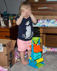 Waiting for a Surprise (SRBenson1) Tags: 2yearsold family