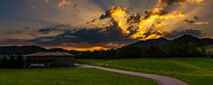 Hörnleberg/Schwarzwald 2018 (karlheinz klingbeil) Tags: sunrise hörnleberg badenwürttemberg südbaden himmel breisgau sonnenaufgang berg panorama schwarzwald wolken mountain
