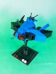 Covenant Keepers Fleet - Aushad Class Custom (Vitor O S Faria) Tags: mfz mf0 io mobile frame zero interceptorbit ships spaceships starships lego mecha mech