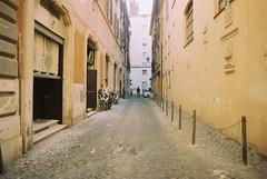 Roma (goodfella2459) Tags: nikon f4 af nikkor 24mm f28d lens cinestill 50 35mm c41 film analog city roma street buildings italy rome manilovefilm