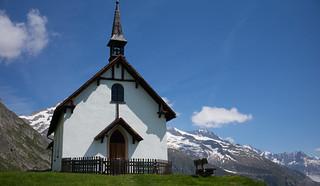 Kapelle Herz-Jesu Lüsga (Aletschbord, Wallis)