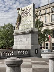The Invisible Enemy Should Not Exist (padraic collins) Tags: theinvisibleenemyshouldnotexist nergalgateofnineve fourthplinth trafalgarsquare london michaelrakowitz lamassu sculpture