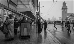 5_DSC8610 (dmitryzhkov) Tags: street life moscow russia color colour human monochrome reportage social public urban city photojournalism streetphotography documentary people bw dmitryryzhkov blackandwhite everyday candid stranger scene scenesoflife vendor trade
