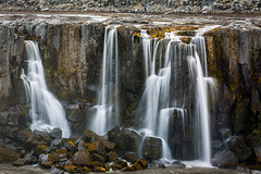 Leaky Waterfall (Kirk Lougheed) Tags: iceland icelandic jökulsááfjöllum norðurlandeystra selfoss basalt basaltic cascade columnarbasalt landscape outdoor river water waterfall