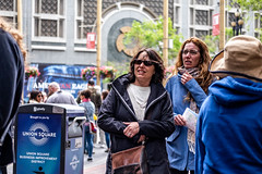 San Francisco 2018 (burnt dirt) Tags: sanfrancisco california vacation town city street road sidewalk crossing streetcar cablecar tree building store restaurant people person girl woman man couple group lovers friends family holdinghands candid documentary streetphotography turnaround portrait fujifilm xt1 color laugh smile young old asian latina white european europe korean chinese thai dress skirt denim shorts boots heels leather tights leggings yogapants shorthair longhair cellphone glasses sunglasses blonde brunette redhead tattoo pretty beautiful selfie fashion japanese blue bag map hat