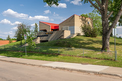 Lacombe Clubhouse, St Albert (WherezJeff) Tags: 2018 alberta brutalism canada centennial garyfrost lacombe rcmp stalbert woolfendengrouparchitects brutalist clubhouse ca
