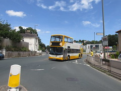 Diversion! 18304, Westhill Road, Torquay, 21/06/18 (aecregent) Tags: westhillroad torquay 210618 stagecoachsouthwest trident alx400 opentopper