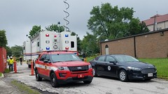 Command Post (Central Ohio Emergency Response) Tags: columbus ohio fire police department mobile command post truck spartan evi communications emergency center battalion chief apparatus