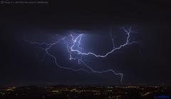 2018.06.21 - 005356 (NIKON D7200) [Carvalha] (Nuno F. C. Batista) Tags: clouds nuvens portugal lusoskies lightning relâmpago thunderstorm trovoada storm night sky nikon severeweather storms photography margemsul skies portuguese meteorology cumulunimbus d7200 arrudadosvinhos carvalha
