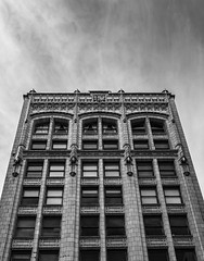Seymour Buildng (grumpyRobin) Tags: building vancouver architecture monochrome neogothic