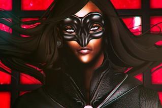 Behind this mask I secretly dwell