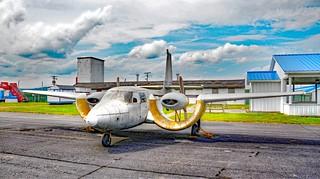 Custer CCW-5 Vintage Airplane