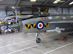Queued up (crusader752) Tags: bac englishelectric lightning f53 zf580 xr486a no74tigersquadron f6 xr718c no111tremblerssquadron qra quickreactionalert bruntingthorpe