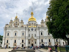 Ukraine (Kiev) Pechersk Monastery Complex (ustung) Tags: architecture complex church orthodox monastry lavra pechersk kiev ukraine