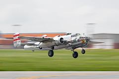DSC_1166-Edit (CEGPhotography) Tags: 2018 reading ww2 ww2weekend wwii wwiiweekend airshow midatlanticairmuseum pa history b25 b25mitchell mitchell bomber