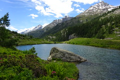 Grundersee (corinne emery) Tags: lotschental valais wallis suisse landscape exterieur nature