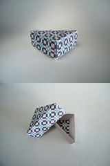 Caja triangular - Nick Robinson (Rui.Roda) Tags: origami papiroflexia papierfalten boîte caixa box caja triangular nick robinson