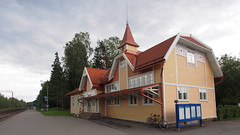 2018 Bike 180: Day 145, July 4 (olmofin) Tags: 2018bike180 finland bicycle polkupyörä kauniainen asema kauniaisten railway station bruno granholm