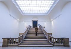 Door No 42 (CoolMcFlash) Tags: door room indoors person woman standing stairs vienna architecture building türe raum stufen treppen innenaufnahme frau stehen wien architektur gebäude fotografie photography fujifilm xt2 xf1024mmf4 r ois secret