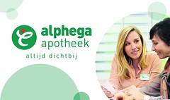 "Logo Alphega apotheek altijd dichtbij • <a style=""font-size:0.8em;"" href=""http://www.flickr.com/photos/148144884@N06/43193386051/"" target=""_blank"">View on Flickr</a>"