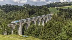 VAE 2580 @ Degersheim (Jeroen's fotosite) Tags: bahn degersheim eisenbahn ferroviaria kantonstgallen railways re456 sob schweiz sudostbahn svizzera swiss switzerland südostbahn train trein vae voralpenexpress voralpen weissenbachviadukt wissbach zug zwitserland sanktgallen ch