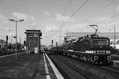 7-7-2018 - Berlin Lichtenberg (berlinger) Tags: berlinlichtenberg berlin deutschland eisenbahn rail railroad locomotive br143 br243 sonderzug deltarail ldc lausitzerdampflokclub rügen