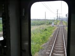 A long rail bridge (しまむー) Tags: panasonic lumix gx1 g 20mm f17 asph natural train tsugaru free pass 津軽フリーパス