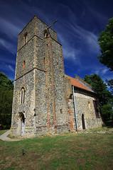 St Mary's, Houghton on the Hill, Norfolk (Whipper_snapper) Tags: stmarys houghtononthehill bobdaveymbe church murals saxon norfolk england uk gb pentax pentaxk5