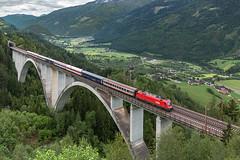 1116 278 Oberfalkenstein (szakipeti) Tags: öbb 1116 oberfalkenstein tauernbahn en294 nightjet romamünchen