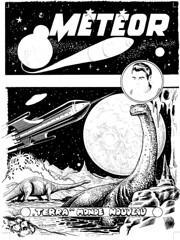 covorig005 (Eric Erac) Tags: meteor météor french comics bande dessinée raoul giordan fusée rocket spaceship science fiction sf dinosaure dino dinosaur retro fifties années cinquante soucoupe volante flying saucer artima