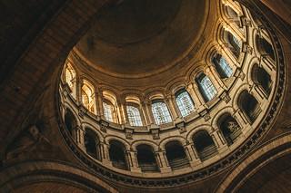 Toit de la Basilique du Sacré-Coeur de Montmartre