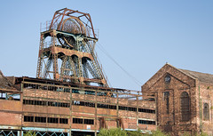 Chatterley Whitfield colliery 01 jul 18 (Shaun the grime lover) Tags: derelict industrial rusty summer wheel chatterley whitfield colliery coal mine chell tunstall staffordshire headgear pithead
