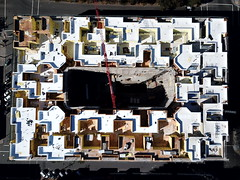 Fourth Street East apartment construction (samayoukodomo) Tags: dronepointofview drone dronephotography aerialview quadcopter takingthedroneouttogethigh djimavicpro mavicpro birdseyeview droneview aerialphotography aerial