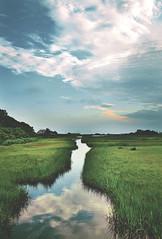 the cape (Kaleigh K) Tags: landscape cape capecod d3100 water sky clouds nikon reflection massachusetts