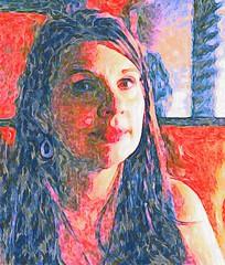 Cindy Red (mteter73@att.net) Tags: people portrait impressionism digital digitalart painting vangogh expressionism matisse brushstroke