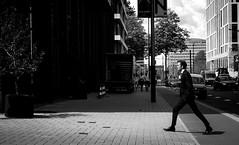 Silly Walks (Remuz59Photography) Tags: streetphotography streetphoto amsterdam straatfoto monochrome fujilove leicasummicron40mm