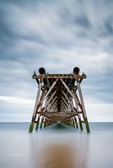 Steetley Pire (Squareburn) Tags: steetley hartlepool pier longexposure longexposurewater coast seascape