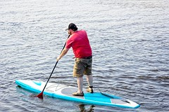 Guys Paddle Boarding 68 (LarryJay99 ) Tags: snookisland lakeworthflorida 2018 water intercoastalwaterway people palmbeachcounty lagoon blue reds men fun paddleboarding watersports sports man guy guys dude male studly manly dudes handsome watersedge