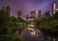 Typical ride (karinavera) Tags: city longexposure night photography cityscape urban ilcea7m2 sunset newyork nyc centralpark